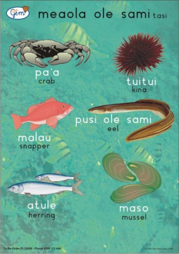 Fish ONE Poster Samoan-0