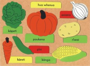 Vegetables Maori Puzzle (16pcs)-0