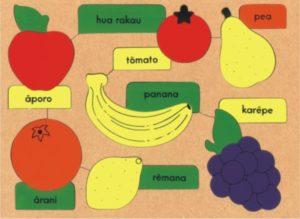 Fruit Maori Puzzle (16pcs)-0