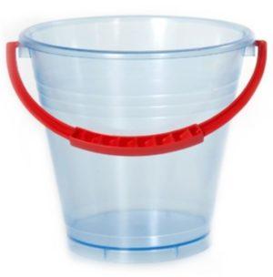 Clear Bucket 14cm-0
