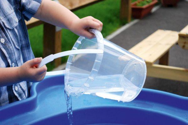 Clear Bucket 14cm-13427