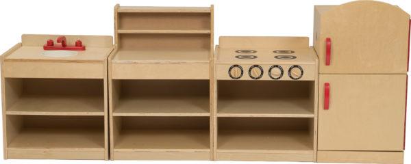 Tiny Tots Kitchen Set (4pcs)-11189