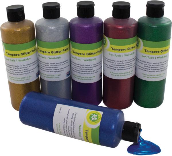 Glitter Paint 500ml (6pcs)-0