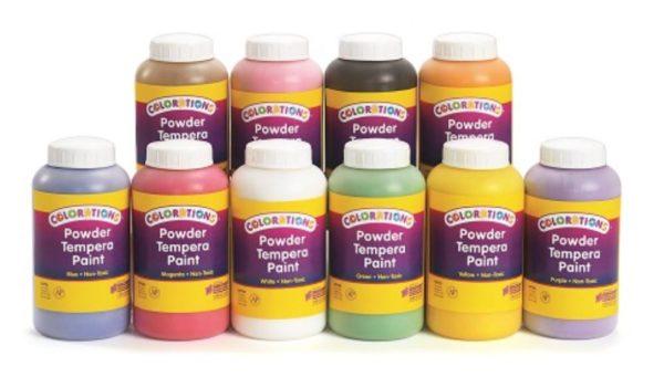 Tempera Powder Paint 1Ltr-0