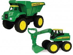 John Deere Excavator & Dump Truck Set (2pcs)-0