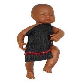 Doll Maori Cloak-0