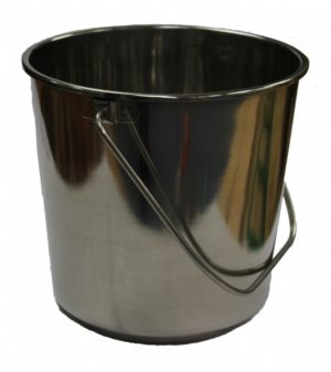 Stainless Steel Bucket 8Ltr-0