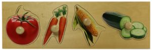 Giant Vegetable Photo Puzzle (4pcs)-0