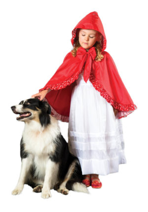 Red Riding Hood Cape Dress-Up-0