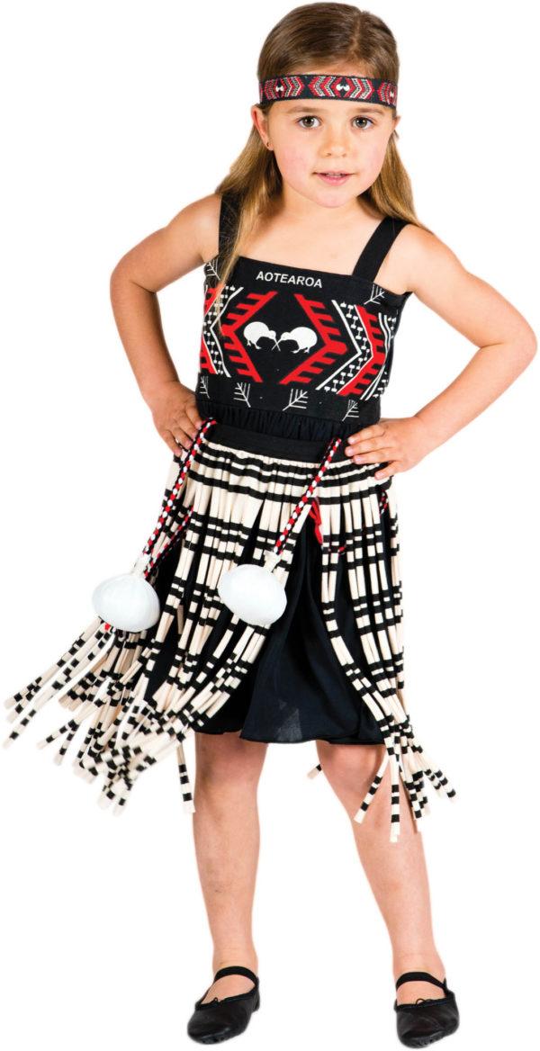Kapa Haka Kotiro Dress-Up Red-0
