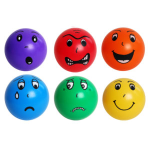 Emotion Balls 20cm (6pcs)-0