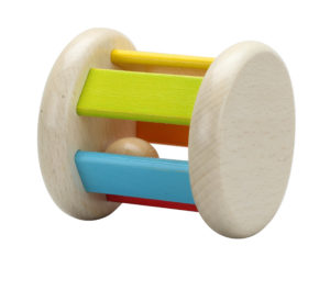 Wooden Roller Rattle-0