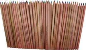 Pencils Triangular Coloured (72pcs)-0
