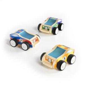 Plywood Race Cars (3pcs)-0