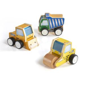 Plywood Construction Trucks (3pcs)-0