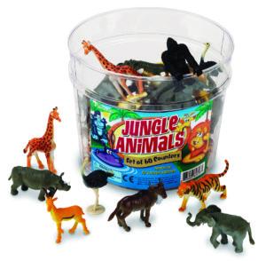 Jungle Animal Counters (60pcs)-0