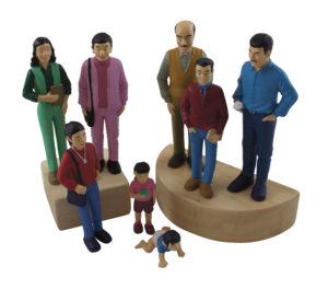 Life-like Brown Family (8pcs)-0