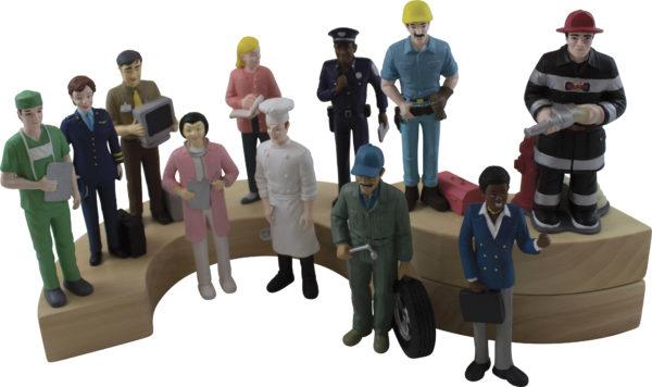 Life-like Community Helpers (11pcs)-0