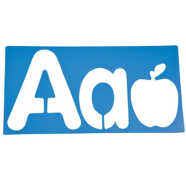 Big Alphabet & Picture Stencils (26pcs)-8201