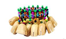 Wooden Wrist Shaker-0