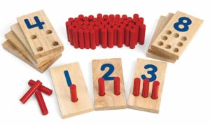 Peg Number Boards (65pcs)-0
