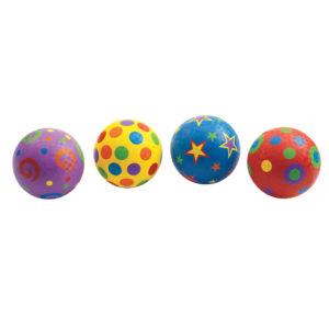 Whimsical Playground Balls (4pcs)-0