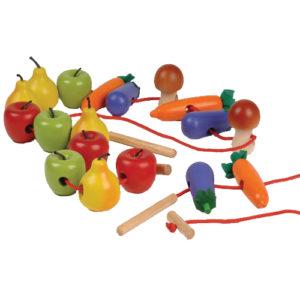 Lacing Fruits & Vegetables (25pcs)-0