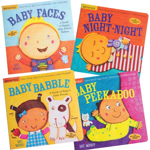 Indestructible Books - Babies (4pcs)-0