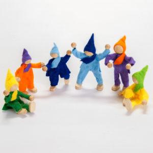 Felt Puppets (6pcs)-0