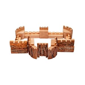 Natural Castle Blocks (16pcs)-0