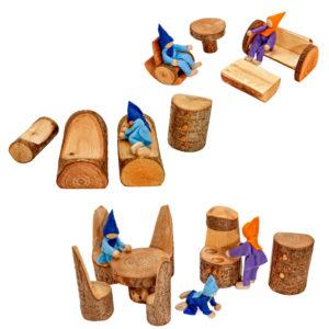 Tree House Furniture Set (21pcs)-0