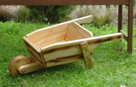 Wooden Wheelbarrow-0