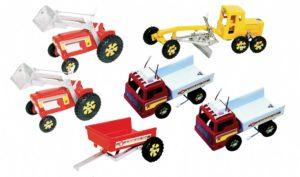 Metal Play Vehicle Set (6pcs)-0