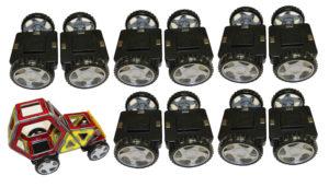 Magnetic Construction Wheel Set (10pcs)-0