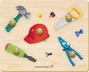 Carpentry Photo Puzzle (5pcs)-0