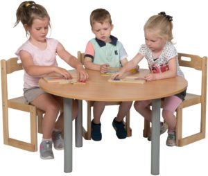 Heavy Duty Small Round Table-0