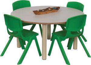Heavy Duty Small Round Table Coloured-0