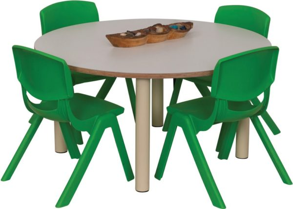 Heavy Duty Small Round Table Coloured-0