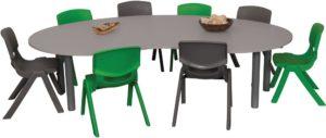 Heavy Duty Large Kidney Table-0