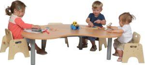 Heavy Duty Small Kidney Table-0