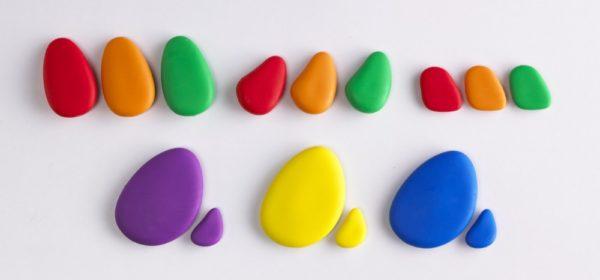Rainbow Pebbles (56pcs)-12896
