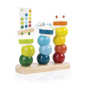 Caterpillar Stacking Activity Set-0