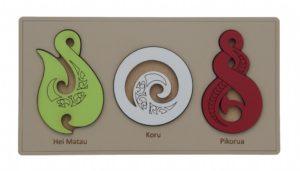 Taonga Maori Puzzle (3pcs)-0