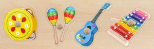 Giant Music Instruments Puzzle (4pcs)-0
