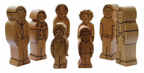 Natural Wood Family (8pcs)-0