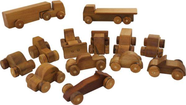 Natural Car & Truck Set (13pcs)-13011