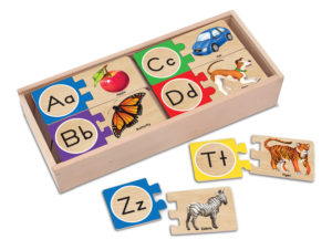 Alphabet Letter Puzzles (52pcs)-0