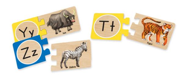 Alphabet Letter Puzzles (52pcs)-10193