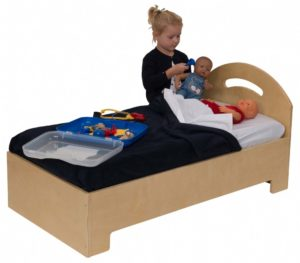 Wooden Play Bed-0