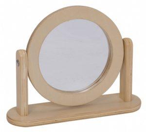 Wooden Dressing Mirror-0